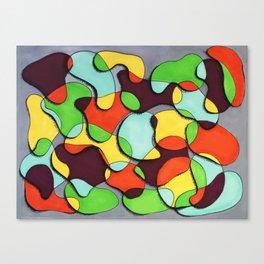 Blob Dreams Canvas Print