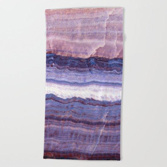 Azul marble Beach Towel