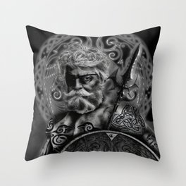 FATHER ODIN Throw Pillow
