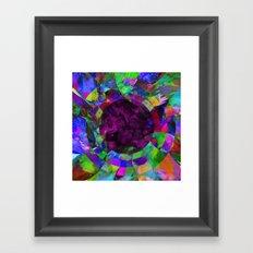 Pscychedelic Vision Framed Art Print
