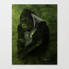 The Gorilla Canvas Print
