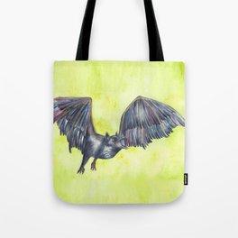 Raven Bat Tote Bag