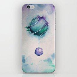 Planetary Moon Drips iPhone Skin