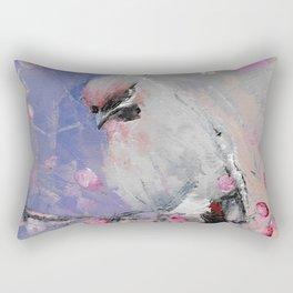 Waxwing Rectangular Pillow