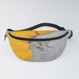 Sunflower in the Sand Fanny Pack