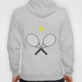 Tennis Racket And Ball 2 Hoody