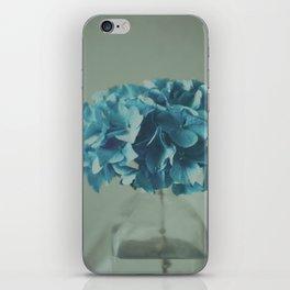 Blue Flower iPhone Skin