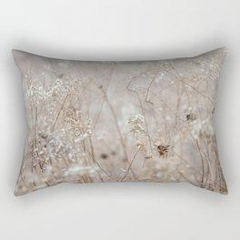 Wildflowers in the Autumn Rectangular Pillow