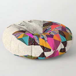 The Night Playground by Peter Striffolino and Kris Tate Floor Pillow