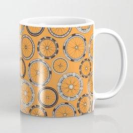 bike wheels amber Coffee Mug