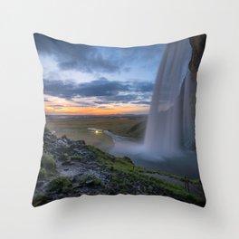 Seljalandsfoss Throw Pillow