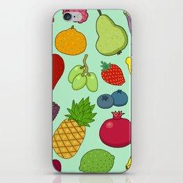 Doodle Fruit iPhone Skin
