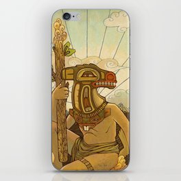 Knight of Wands iPhone Skin