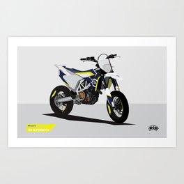 Supermoto 701 Art Print