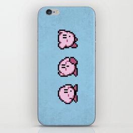 Kirbys Adventure iPhone Skin