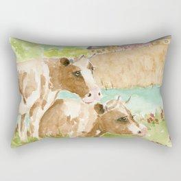 My Girls Rectangular Pillow
