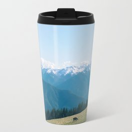 Deers on the Mountain Travel Mug