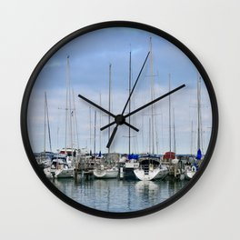 Milwaukee Sailboats Wall Clock