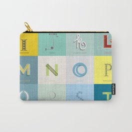 Sustainability Alphabet Carry-All Pouch
