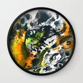 Eye of the Leopard Wall Clock