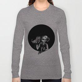 Faux King Long Sleeve T-shirt
