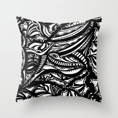 Black & White Lover  Throw Pillow