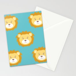 Cute Lion Love Stationery Cards