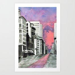 Metropolitan Impressions Art Print