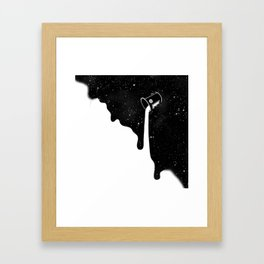 COLLER STARS Framed Art Print