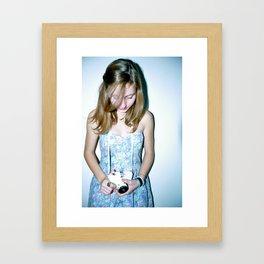 photo shoot Framed Art Print