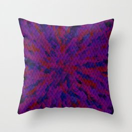 triangles complexity Throw Pillow