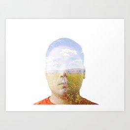 Thinking of you: Fran Art Print