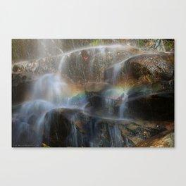 Rock Rainbow Canvas Print
