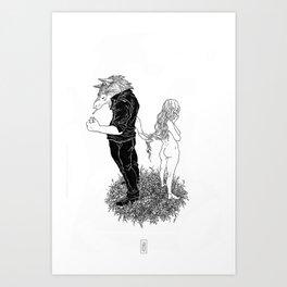 Beware of the Wolf Art Print