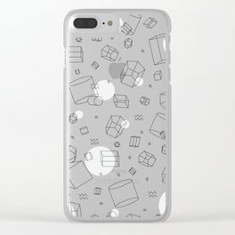 Third Dimensional Pattern Clear iPhone Case