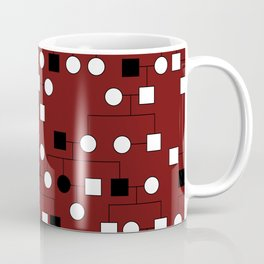 Pedigree Analysis - X-linked Recessive Coffee Mug