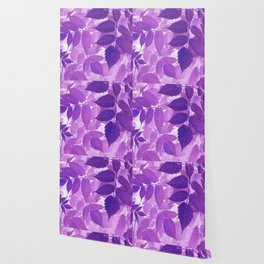 Ultra Violet Purple Leaves Wallpaper