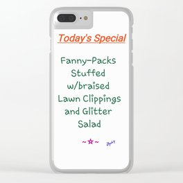 Today's Special Clear iPhone Case