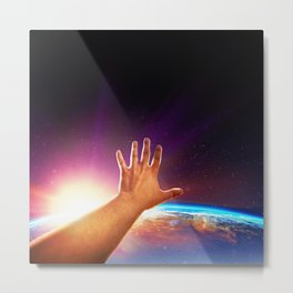 Extended Reach Metal Print