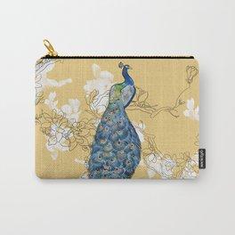 Animalia - The Peacock - Animal kingdom print Carry-All Pouch