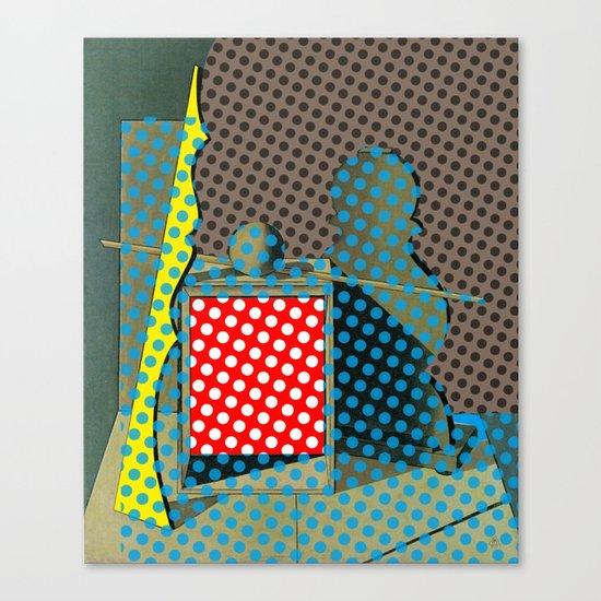 Pop Morandi Canvas Print
