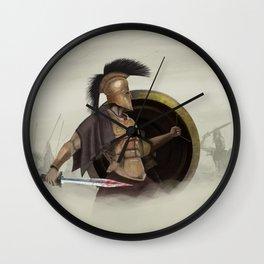 Dust & Bronze Wall Clock