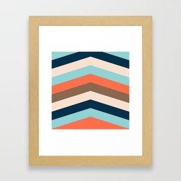 Kings River Sunset Framed Art Print