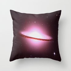 Space Energy Throw Pillow