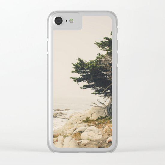Carmel by the Sea Clear iPhone Case