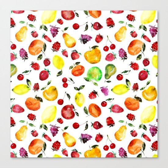 Tutti-frutti Canvas Print