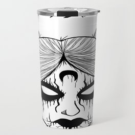 Black Metal Sailor Moon Travel Mug
