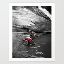 Young Humans & Nature Art Print