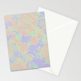 Rainbow Oil Slick Stationery Cards