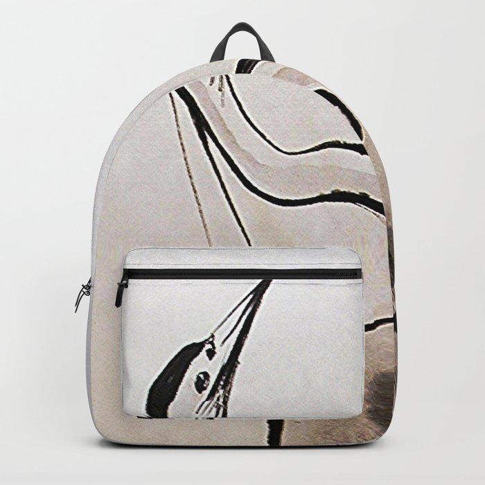 Japanese Crane Backpack